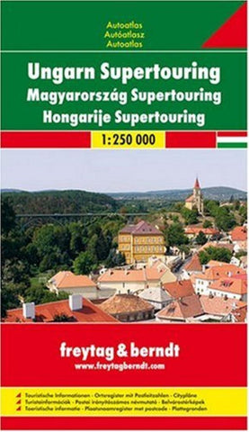 Buy map Hungary, Atlas by Freytag-Berndt und Artaria