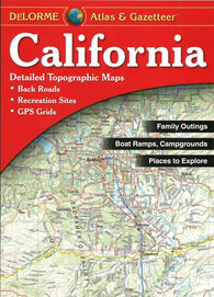 Buy map California Atlas and Gazetteer by DeLorme