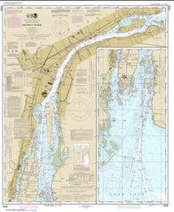 Buy map Detroit River (14848-58) by NOAA
