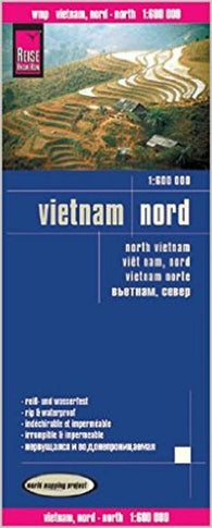 Buy map Vietnam, Northern by Reise Know-How Verlag