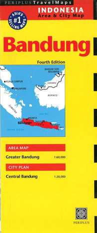 Buy map Bandung, Indonesia by Periplus Editions