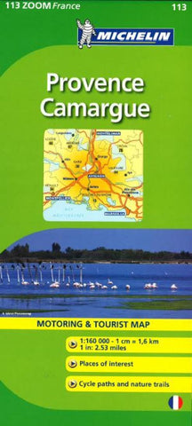 Buy map Provence, Camargue, Zoom Map (113) by Michelin Maps and Guides