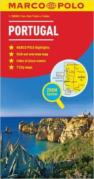 Buy map Portugal by Marco Polo Travel Publishing Ltd