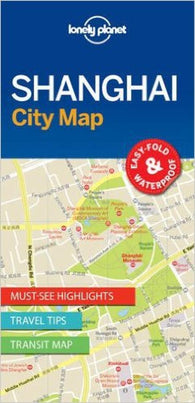 Buy map Shanghai, China City Map by Lonely Planet Publications