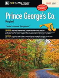 Buy map Prince Georges County, MD, Street Atlas by Kappa Map Group