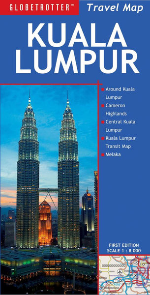 Buy map Kuala Lumpur, Maylaysia Travel Map by New Holland Publishers