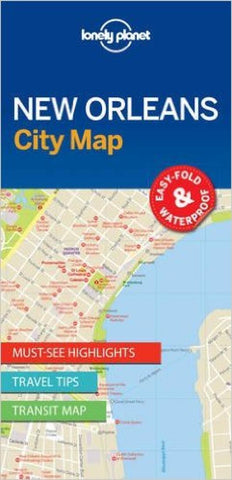 Buy map New Orleans, Louisiana City Map by Lonely Planet Publications