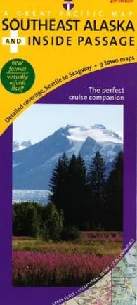 Buy map Alaska, Southeast and Inside Passage, Road and Recreation by Great Pacific Recreation & Travel Maps