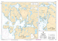 Buy map Fish Egg Inlet and/et Allison Harbour by Canadian Hydrographic Service