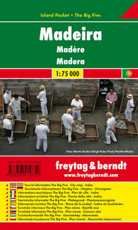 Buy map Madeira, Island Pocket Map by Freytag-Berndt und Artaria