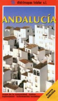 Buy map Andalucia, Spain by Distrimapas Telstar, S.L.