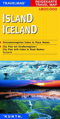 Buy map Iceland by Kunth Verlag