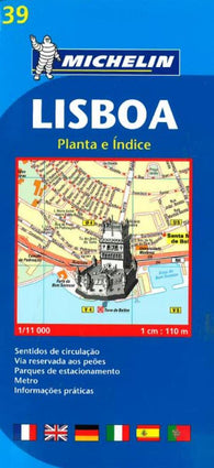 Buy map Lisbon, Portugal (39) by Michelin Maps and Guides