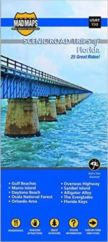 Buy map Florida, Regional Scenic Tours by MAD Maps