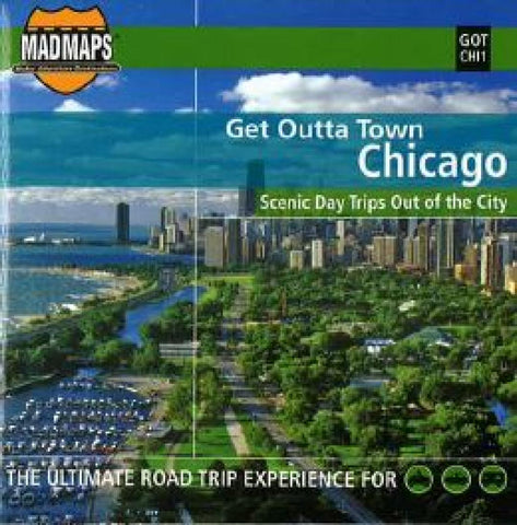 Buy map Chicago, Illinois, Get Outta Town by MAD Maps
