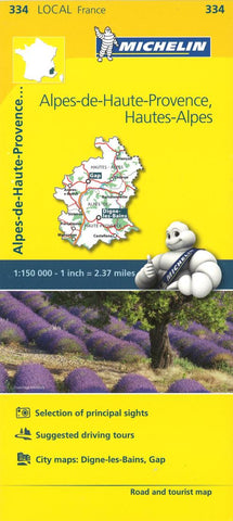 Buy map Alpes De Haute Provence Road and Tourist Map by Michelin Travel Partner