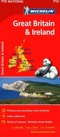 Buy map Great Britain and Ireland (713) by Michelin Maps and Guides