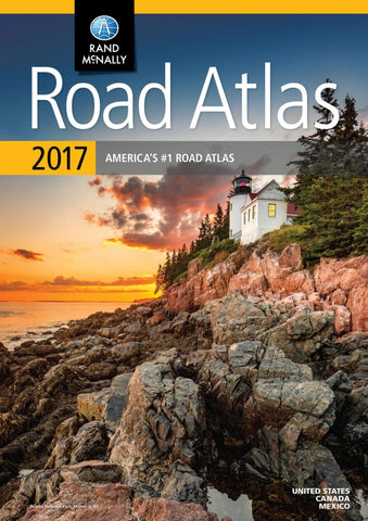 Buy map United States, 2017 Road Atlas by Rand McNally