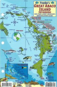 Buy map Bahamas Fish Card, Great Abaco Island by Frankos Maps Ltd.