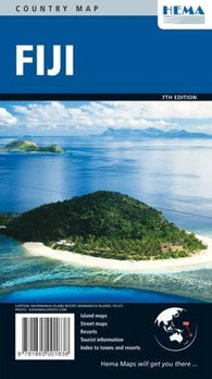 Buy map Fiji by Hema Maps