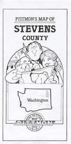 Buy map Stevens County, Washington by Pittmon Map Company