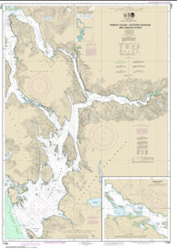 Buy map Ernest Sound-Eastern Passage and Zimovia Strait; Zimovia Strait (17385-18) by NOAA