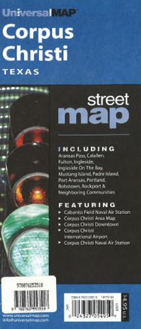 Buy map Corpus Christi, Texas by Kappa Map Group