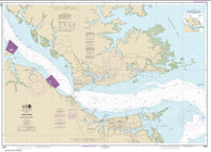 Buy map York River Yorktown and Vicinity (12241-23) by NOAA