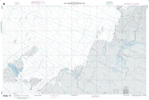 Buy map East Siberian Sea - Western Part (NGA-41000-2) by National Geospatial-Intelligence Agency