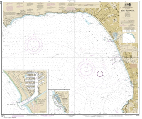 Buy map Santa Monica Bay; King Harbor (18744-33) by NOAA