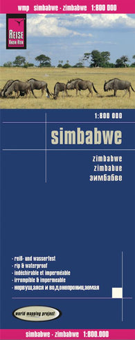 Buy map Zimbabwe by Reise Know-How Verlag
