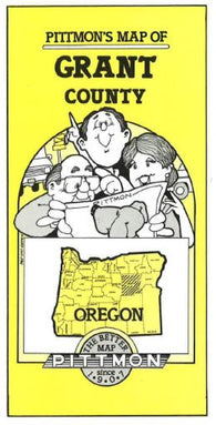 Buy map Grant County, Oregon by Pittmon Map Company