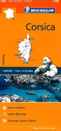 Buy map Corsica by Michelin Maps and Guides