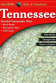 Buy map Tennessee, Atlas and Gazetteer by DeLorme
