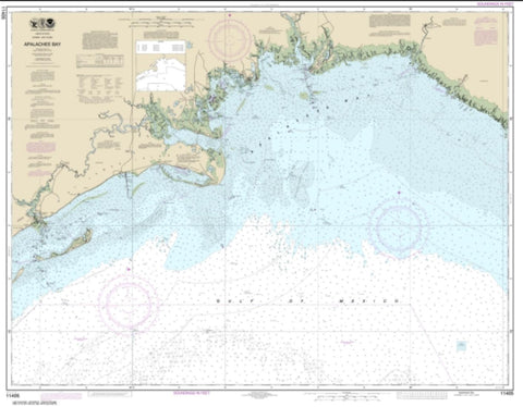Buy map Apalachee Bay (11405-30) by NOAA