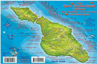 Buy map California Fish Card, Santa Catalina Island 2008 by Frankos Maps Ltd.