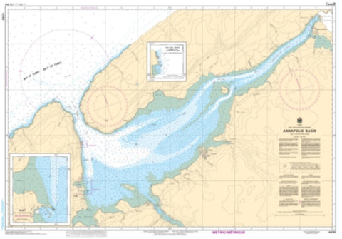 Buy map Annapolis Basin by Canadian Hydrographic Service