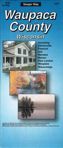 Buy map Waupaca County, Wisconsin by The Seeger Map Company Inc.