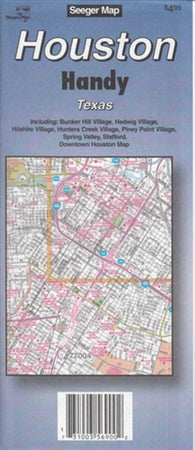 Buy map Houston, Texas Handy Map by The Seeger Map Company Inc.