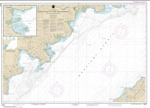 Buy map Dakavak Bay to Cape Unalishagvak; Alinchak Bay (16575-2) by NOAA