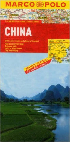 Buy map China by Marco Polo Travel Publishing Ltd
