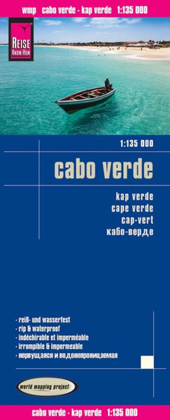 Buy map Cape Verde Islands by Reise Know-How Verlag