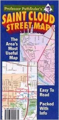 Buy map St. Cloud, Minnesota by Hedberg Maps