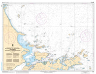 Buy map Approaches to Cartwright, Balck Island to Tumbledown Dick Island by Canadian Hydrographic Service