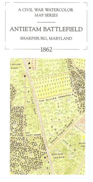Buy map Antietam National Battlefield, Maryland, 1862 by McElfresh Map Co.