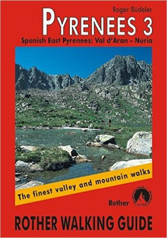 Buy map Pyrenees 3, Walking Guide by Rother Walking Guide, Bergverlag Rudolf Rother
