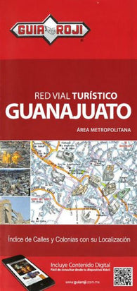 Buy map Guanajuato, Mexico by Guia Roji