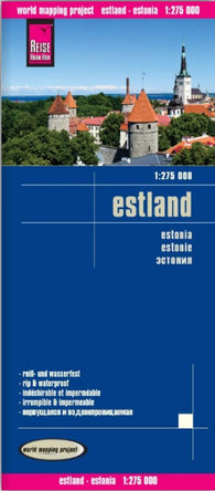 Buy map Estonia by Reise Know-How Verlag