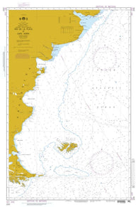 Buy map Rio De La Plata To Cape Horn (NGA-200-3) by National Geospatial-Intelligence Agency