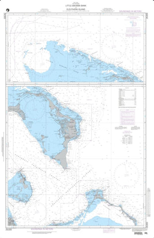 Buy map Little Bahama Bank To Eleuthera Island (NGA-26300-7) by National Geospatial-Intelligence Agency